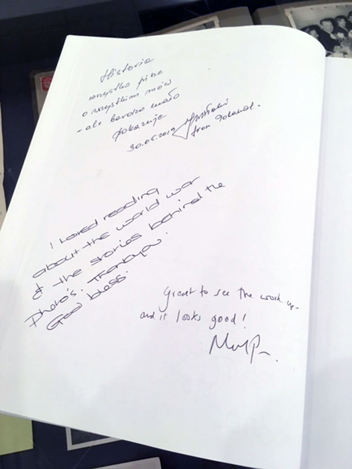 Visitor Book Comments